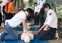 防護團基本訓練與疏散演練