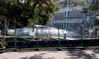 航太系與中科院原地修護校園介壽號