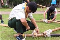 資深女童軍舉辦剛毅童軍團技能競賽事後
