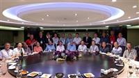 本校測量科(土木系前身)校友於華國飯店舉辦畢業50週年餐會