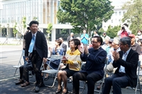 淡水客運捐贈本校2台交通車儀式