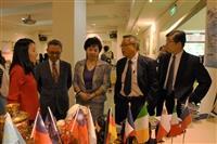 1024(二)1200國際學院週開幕式,校長、國際副校長、國際學院院長出席