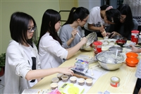 淡江烹飪社11/29全校性體驗-製作「香蕉乳酪瑪芬蛋糕」