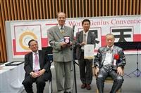 水環系教授高思懷 陶瓷濾膜鍍金飛灰拿日本發明金牌