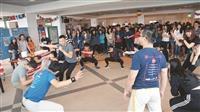 蘭陽國際文化展 體驗卡波耶拉舞
