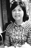 資深媒體人黃瑞瑩和藹可親,總是笑臉迎人。(攝影�洪翎凱)
