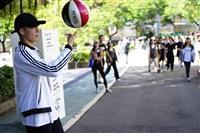 花式籃球快閃活動