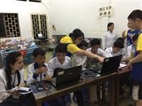 經探號前進柬埔寨提供Excel教學