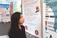 圖書館攜手會計系 展出10家創新創意創業成果