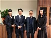 麗澤大學外語學院院長訪問本校
