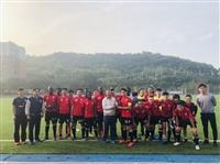 足球校隊獲公開一級第6名