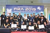 淡江團隊世界盃機器人大賽(FIRA)奪七金