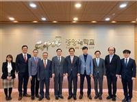 葛煥昭校長率團訪韓 與明知大學締結姊妹校