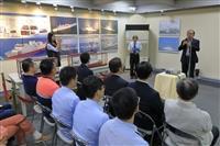 海博館「海巡艦艇影像展」開幕式