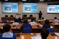 教發組舉辦「設計思考與CDIO融入的教學創新」,由逢甲大學跨領域設計學院吳如娟執行長分享