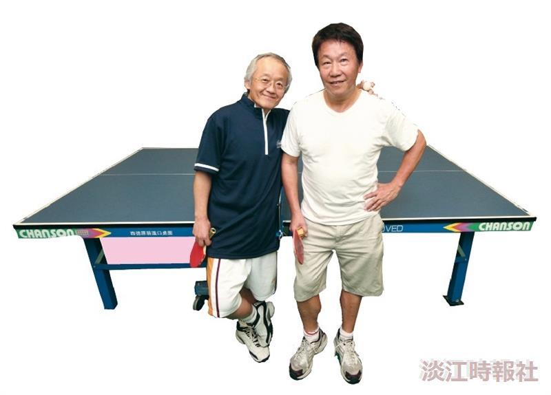 桌球哥倆好 張保興、王士紘