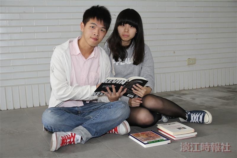 讀書好神>戀愛讀書學分兼顧 范嘉倫 蘇卉仁