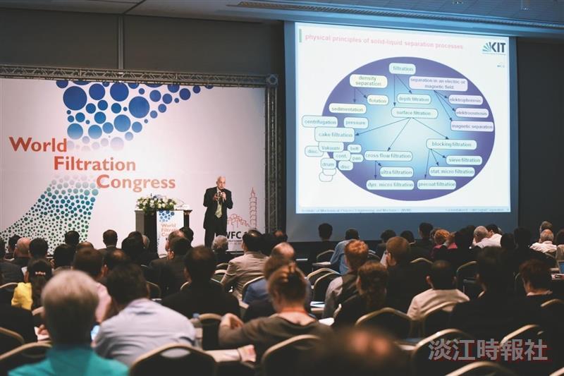 TKU Helps Launch 12th World Filtration Congress