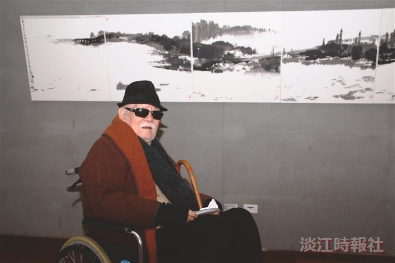 國軍文藝金像獎終身榮譽 李奇茂獲蔡總統頒獎