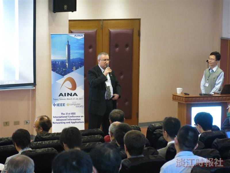 資工系3/27.28.29主辦「IEEE AINA-2017國際研討會」