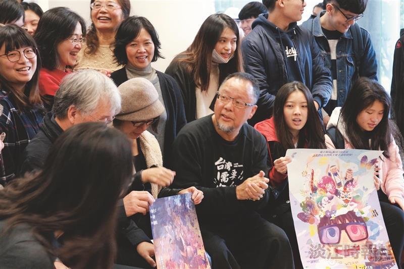 美力台灣3D電影講座 講者:曲全立導演