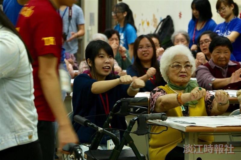 華僑聯誼同學會「墨墨陪你」探訪活動