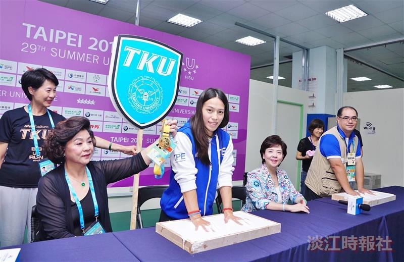 世大運舉重賽在淡江