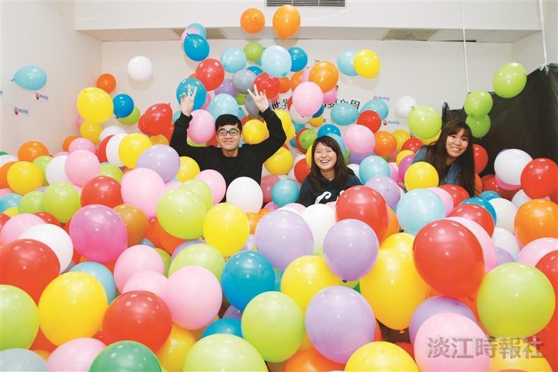 教室變身氣球遊樂園