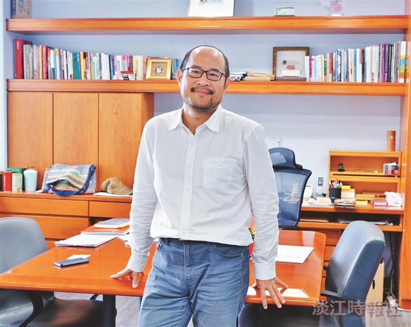 土木系校友 臺北市文化局局長鍾永豐