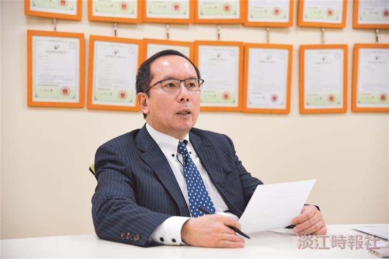 土木系校友動力科技董事長許文昉
