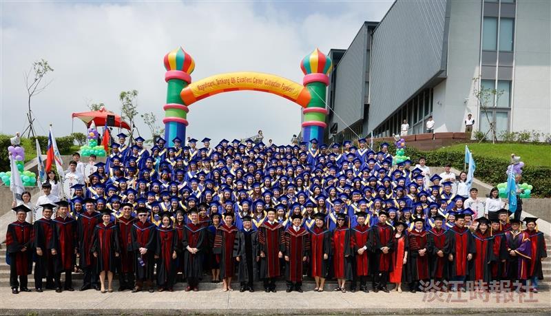 蘭陽畢典歡送232位畢業生