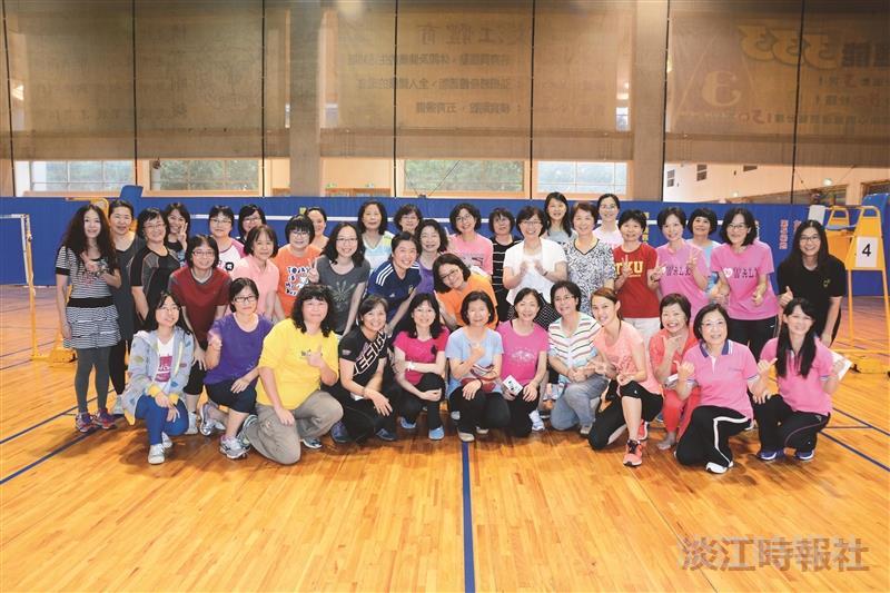 女聯會舞動生活頒獎鼓勵