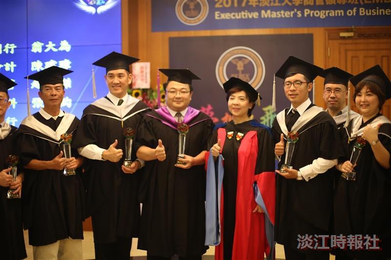105學年度EMBA自辦畢業典禮