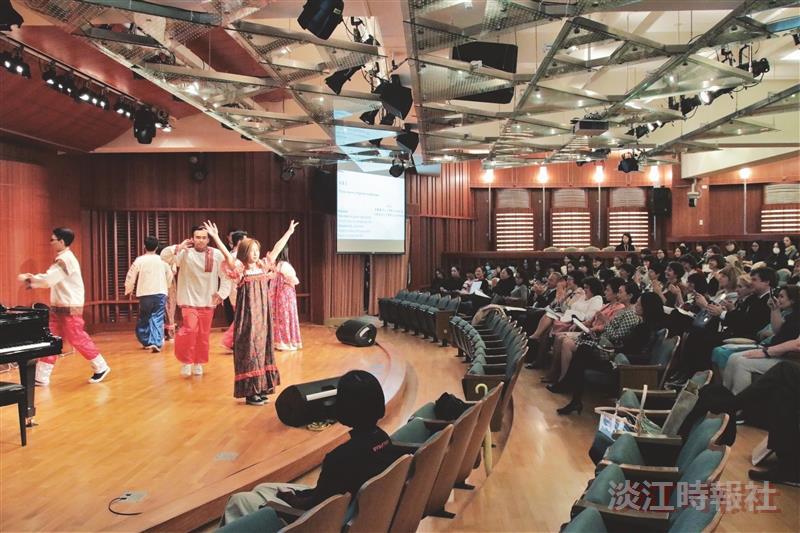 俄文系攜手姊妹校合辦國際多邊學術研討會