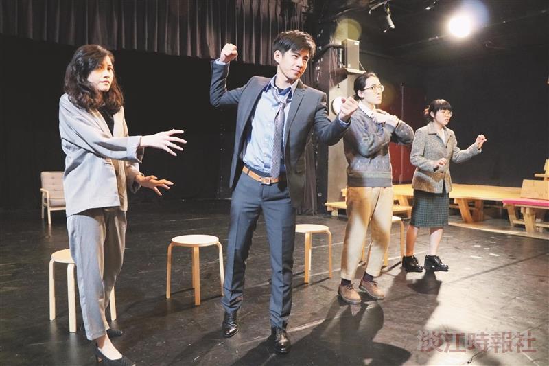 法文系戲劇公演 兩韓統一組合6個愛情故事