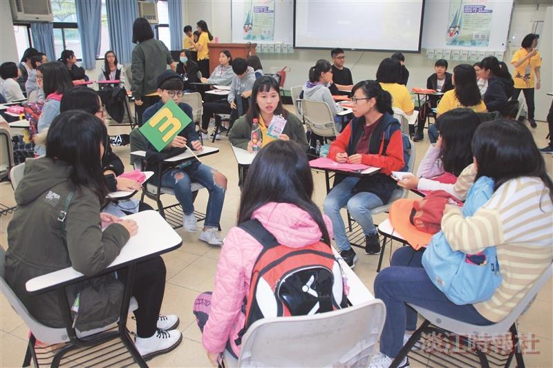 60高中生體驗淡江生活