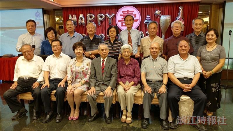 退休人員聯誼會歡聚 同賀前校長林雲山九秩華誕