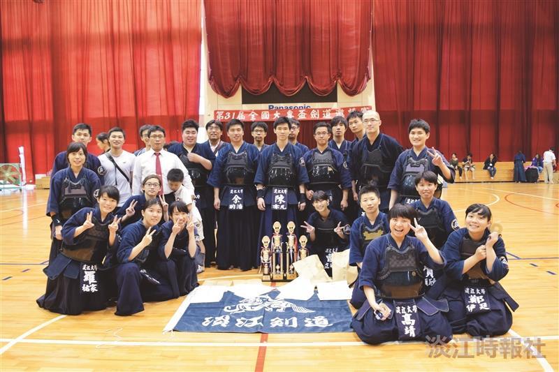 31th全國大專盃劍道邀請賽奪兩金