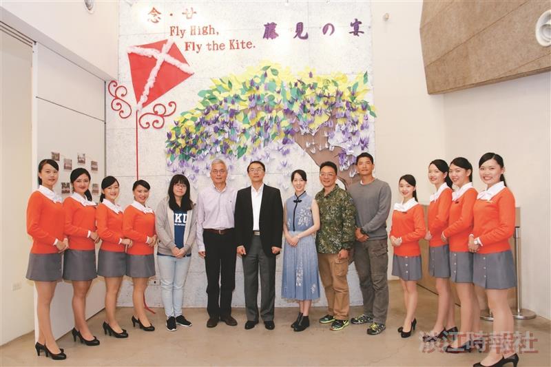 親善大使團歡慶20日本文化研習社展藤見の宴