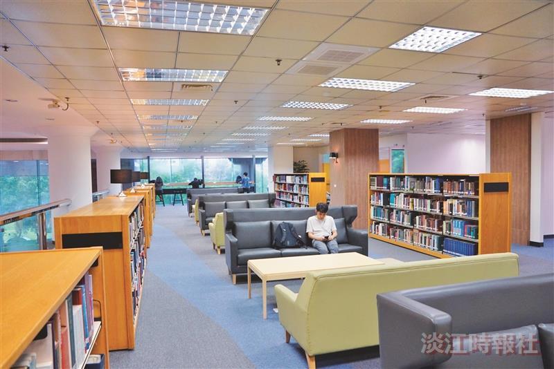 圖館3樓空間改造 改變看得見