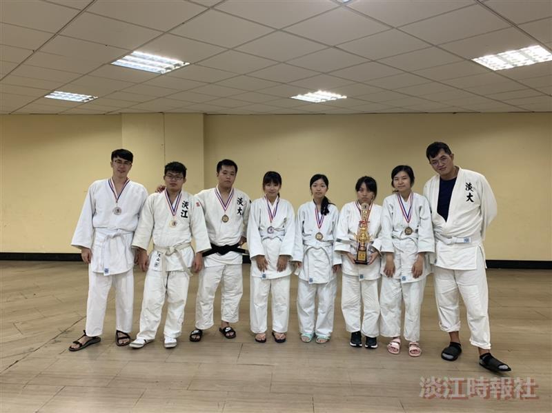 柔道大專盃得獎
