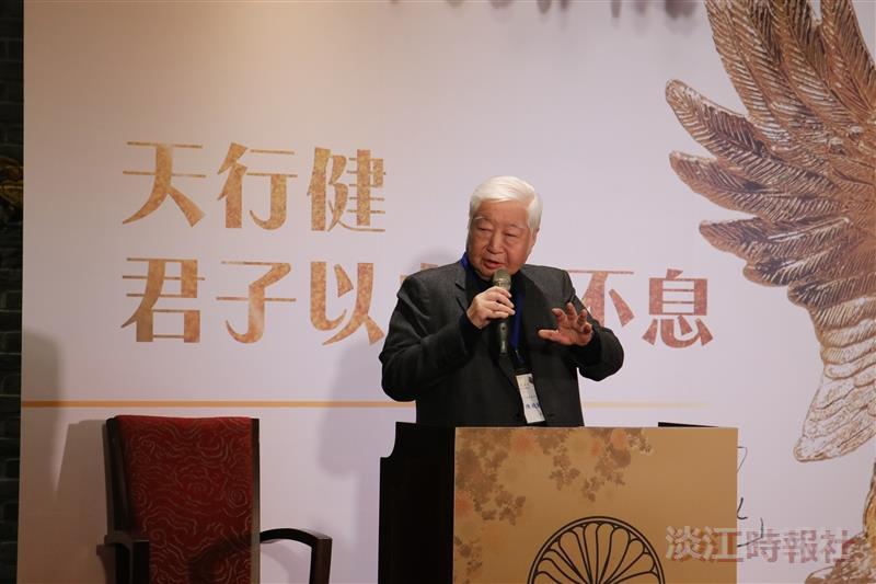【翰林驚聲】環境變化和決策經驗 南僑集團會長陳飛龍分享經營秘訣