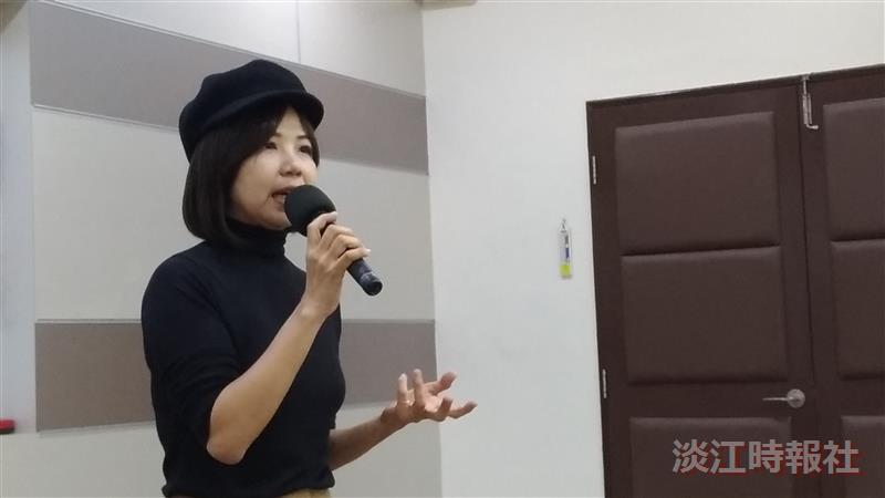 大傳系校友陳慧翎導演演講分享