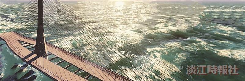 淡江大橋突破亞洲 進入BIM Awards全球決賽