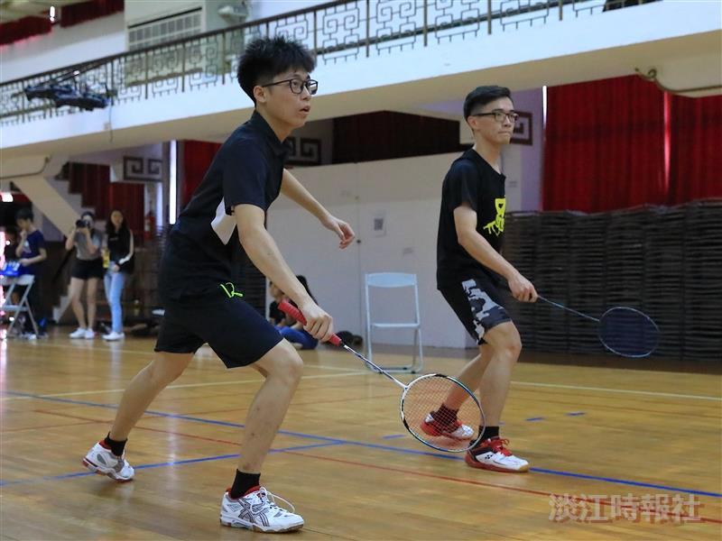 羽球社 第一屆淡江大學羽球公開賽