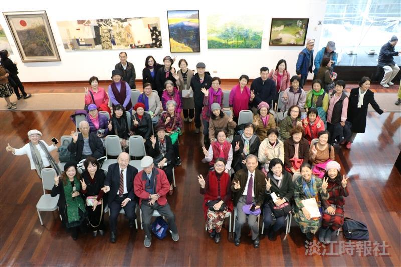 大觀藝心-大觀藝術研究會2018年度聯展開幕
