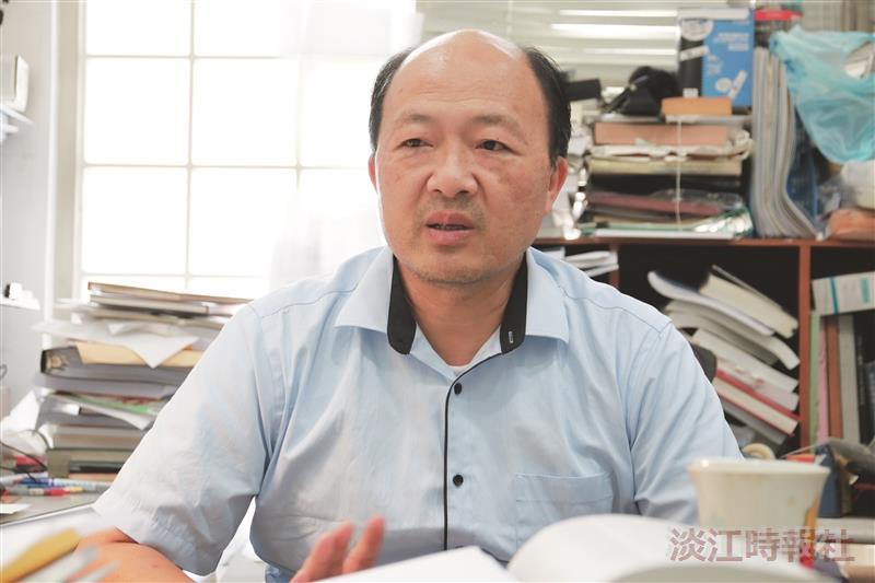 108-1新任一級主管 理學院長施增廉