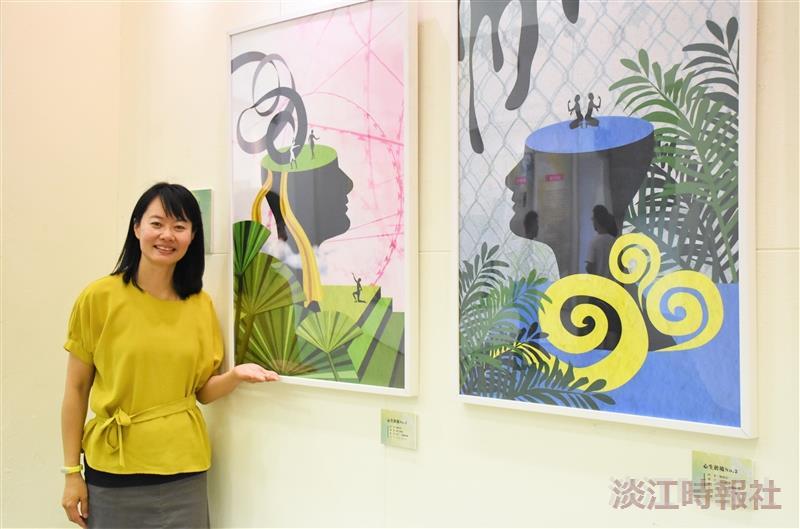 賴惠如創作展30件數位繪畫作品