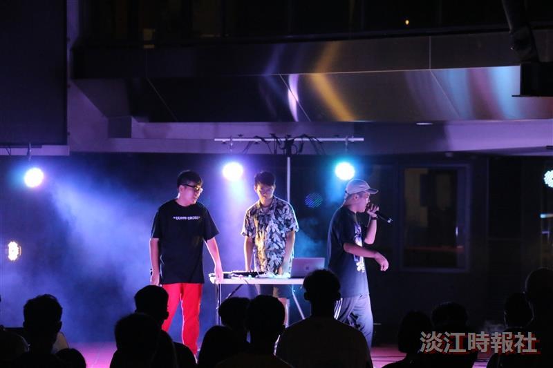 Beatbox社迎新 饒舌助陣