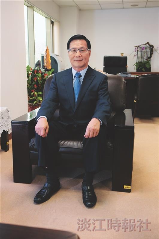 第十二任校長葛煥昭 淡江第五波:共創大淡水 智慧大未來